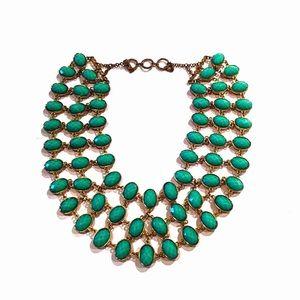 Jewelry - Reversible Beaded Bib Necklace